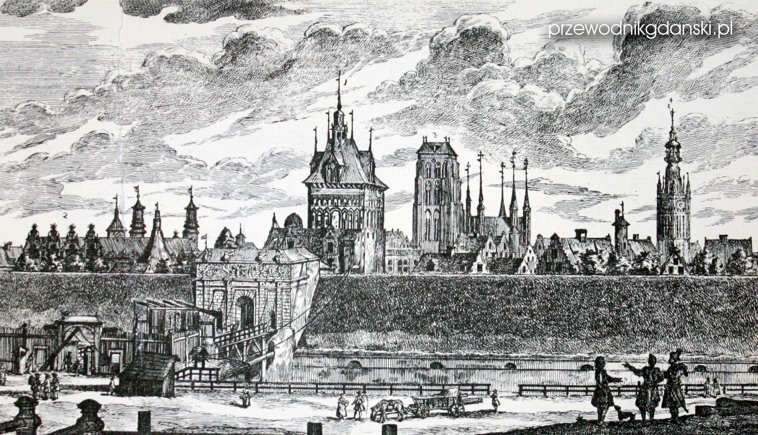 Mateusz Deisch, fortyfikacje Gdańska
