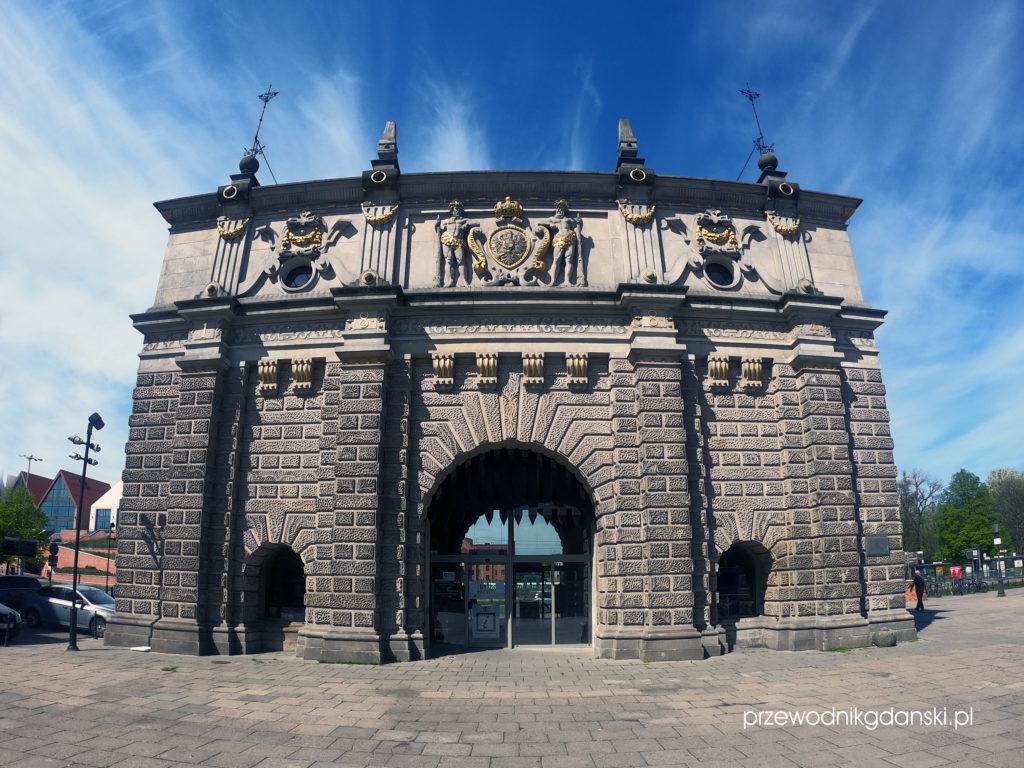 Brama Wyżynna, Gdańsk