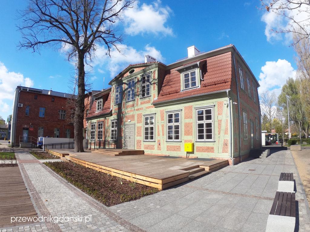 Dom Wiedemanna (podwórze), Pruszcz Gdański
