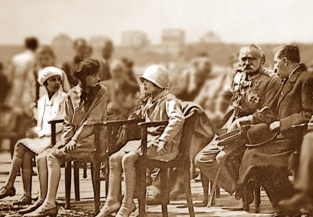 Wizyta PIłsudskiego w Gdyni