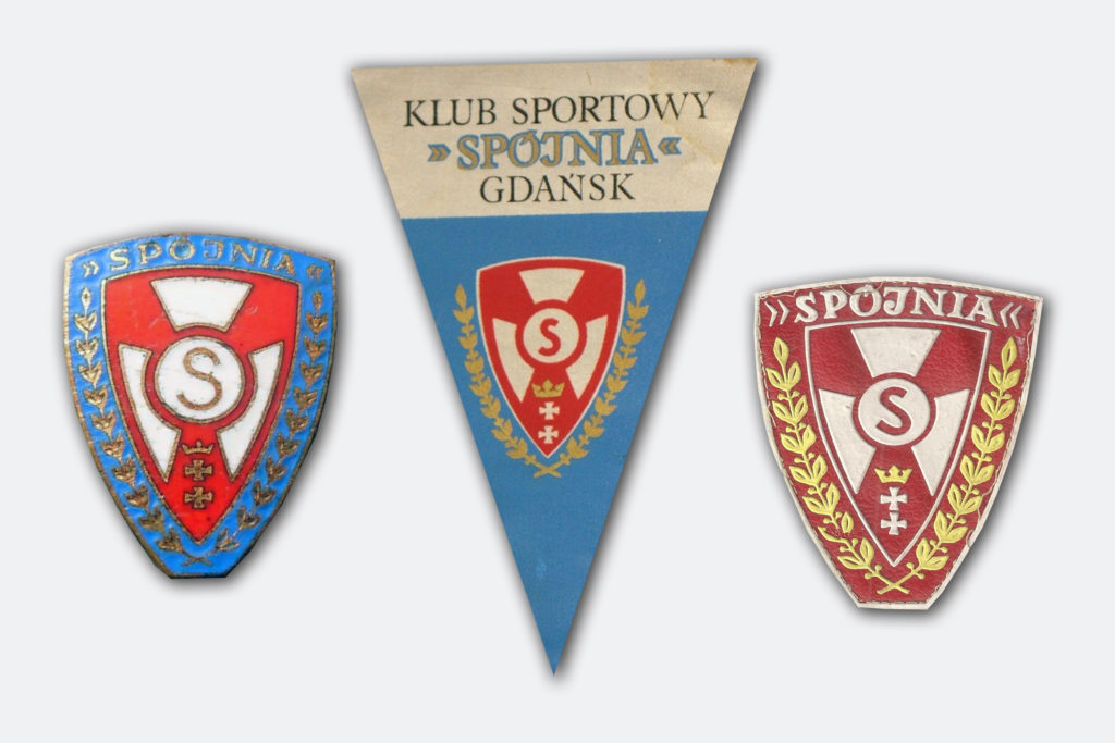 Pamiątki KS Spójnia Gdańsk