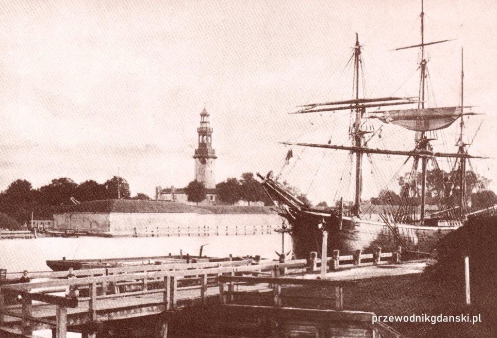 Twierdza Wisłoujście, ok. 1900