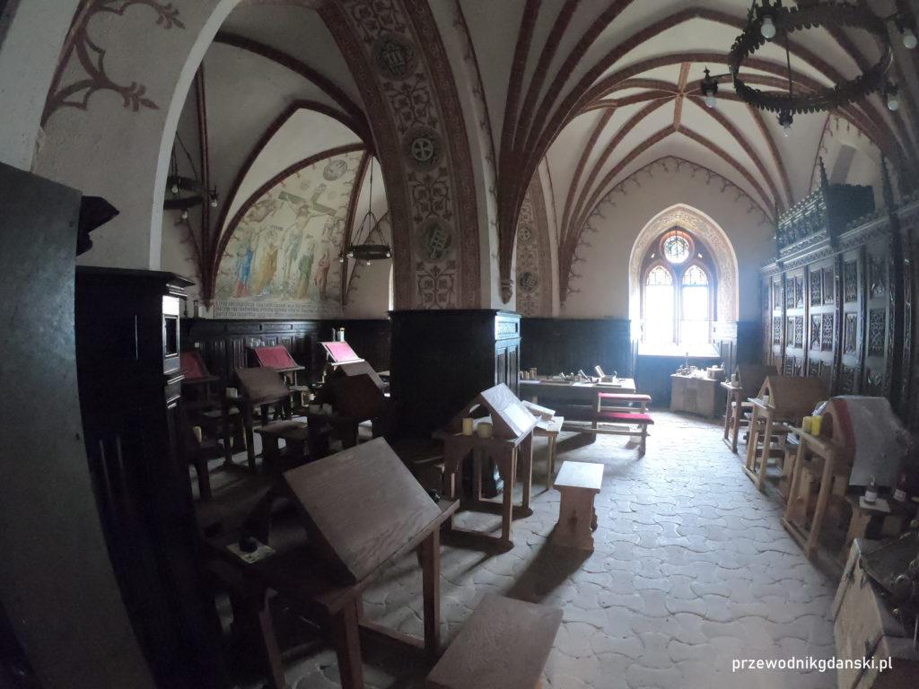 Pelplin, skryptorium klasztorne